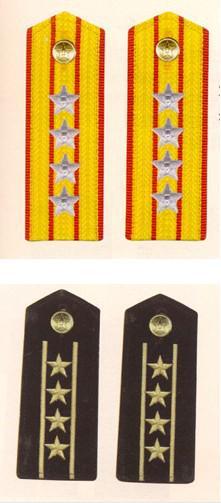 军1988年至2007年军衔介绍 陆军篇图片